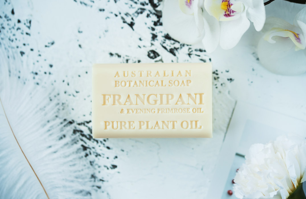Frangipani & Evening Primrose Oil soap