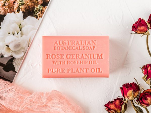 Rose Geranium with Rosehip Oil soap