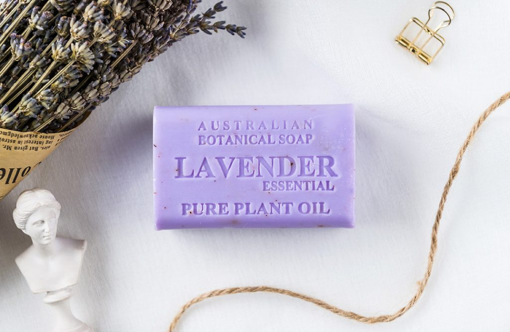 Lavender with Essential Oil